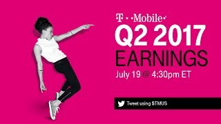 T-Mobile Q2 2017 Earnings Call: Behind-the-Scenes Livestream