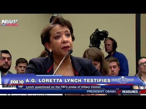 FNN: AG Loretta Lynch Mum on Clinton Email Probe at Tense House Hearing