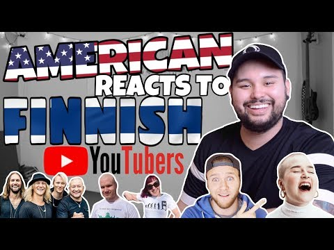 American REACTS // Finnish Youtubers
