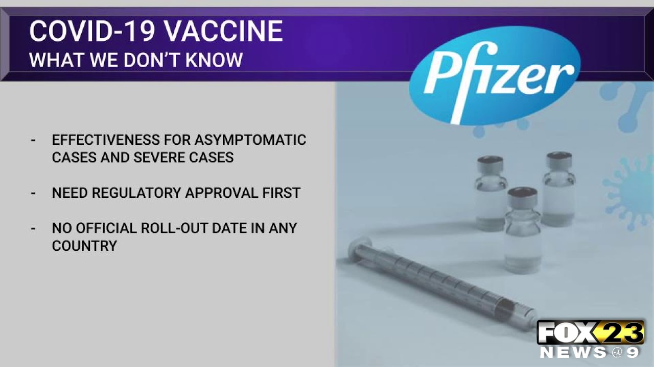 Amanda Decker reports on what we know, don't know about COVID-19 vaccine