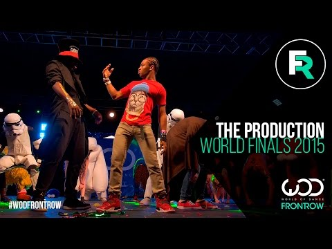 The Production  FRONTROW  World of Dance Finals   WODFINALS15