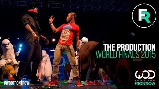 The Production | FRONTROW | World of Dance Finals 2015 | #WODFINALS15 thumbnail