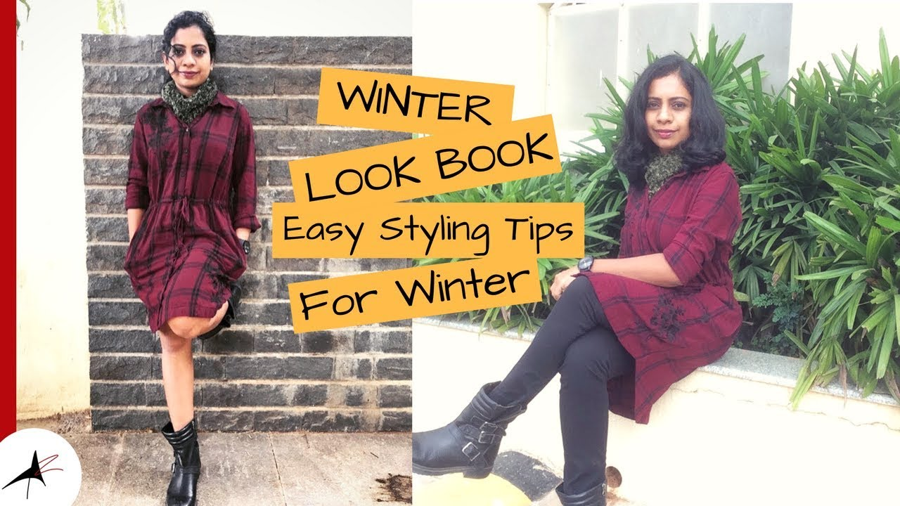 Winter Look Book 2017 | Easy Fashion Tips For Winter | Commercial Street Try On Haul | Arpitharai