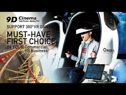 Awesome 9D Virtual Reality Cinema Egg 9D VR Cinema Simulator review