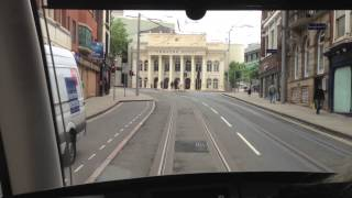 Nottingham Tram part 1