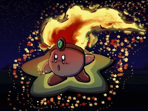 Fire Kirby Speedpaint (Deviantart 10 Year Anniversary)