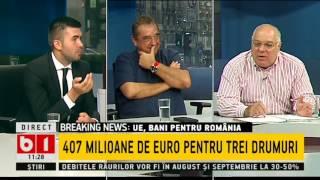 TALK B1- COMISARUL EUROPEAN- CORINA CRETU NE BAGA BANI IN SAC PENTRU INFRASTRUCTURA