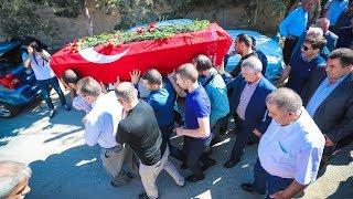 İstanbulda güllələnən azərbaycanlı iş adam dəfn edildi (ŞƏRHSİZ)