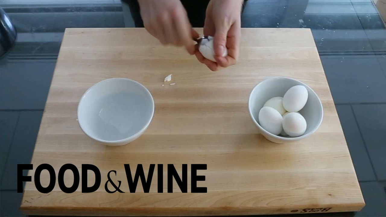 How to Peel 3 HardBoiled Eggs in 15 Seconds  Mad Genius Tips