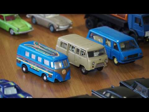 Ritvara Stepanova automašīnu modelīšu kolekcija