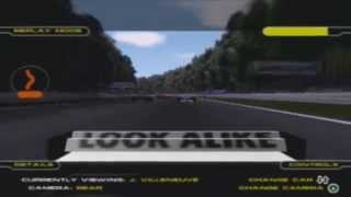 Formula One 2001 PS2: Montoya goes airborne at Hockenheim