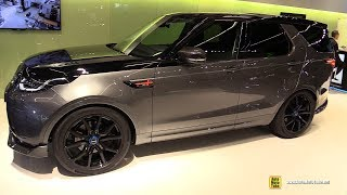 2018 Land Rover Discovery by StarTech - Exterior and Interior Walkaround - 2017 Frankfurt Auto Show