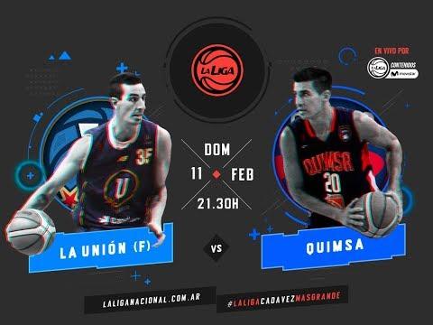 Liga Nacional: La Unión vs. Quimsa | #LaLigaEnTyCSports