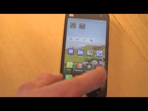 Xiaomi Mi2 android smartphone video review/walkthrough of the MIUIandroid rom
