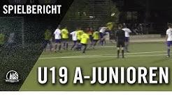 FC Pesch U19 – SC West Köln U19 (Viertelfinale, A-Junioren FVM-Qualifikation)