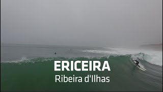 Surf Session  by Drone: Ericeira - Ribeira d