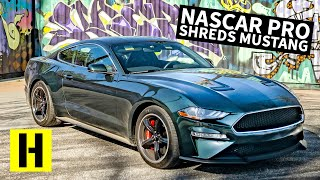 Brand New Ford Mustang Bullitt Gets Shredded by NASCAR Driver Cole Custer