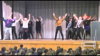 Antrim Grammar School Flash Mob