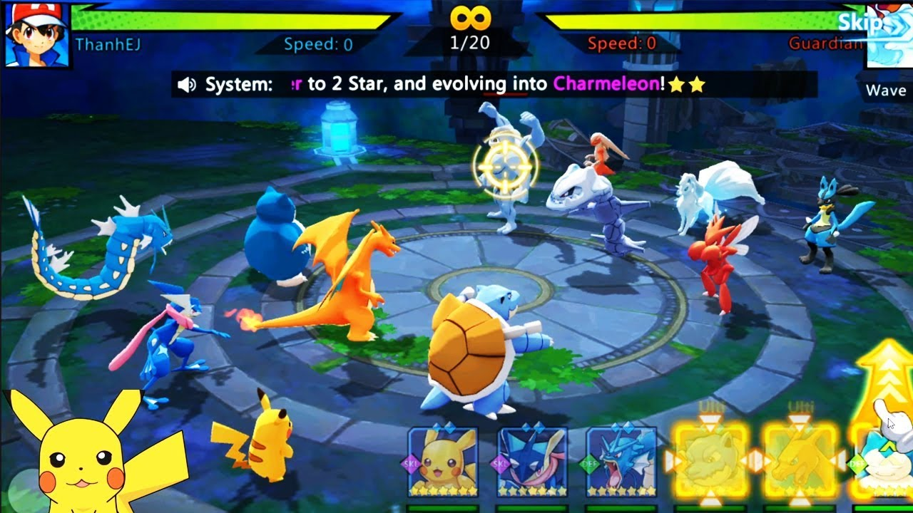 Monster Assemble -Game Pokemon Mới Nhất Cực Hay 2019 – Gameplay Walkthrough (iOS, Android)