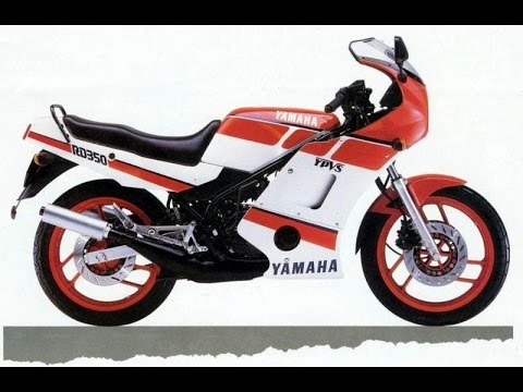 Yamaha RD350 F2 YPVS (RZ350) New toy.