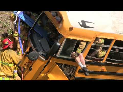 SCHOOL BUS CRASH IN ANAHEIM, CALIFORNIA