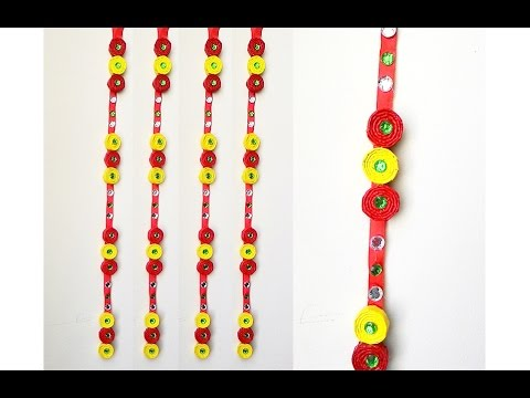 How to make newspaper wall hanging newspaper diy youtube for Waste paper wall hanging