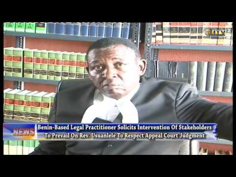 Lawyer urges Rev. Usuanlele to obey Court judgment