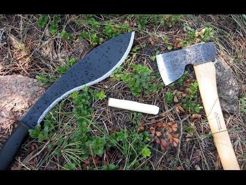 La machette a-t-elle sa place dans le survivalisme?