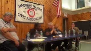 council member williams on government reform neighborhood panel discussion