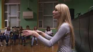 Презентация хора ФФЖ  АГУ. Фестиваль Большие танцы в АГУ
