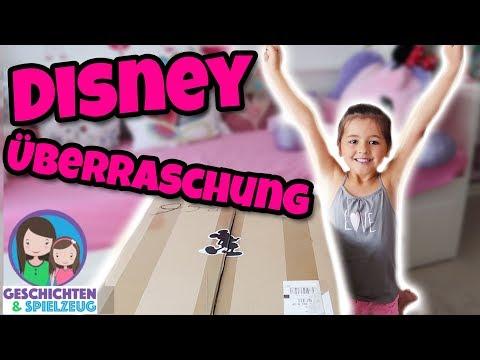 AVA FLIPPT AUS! Was ist in diesem DISNEY Überraschungs Paket? Haul 🎁 Geschichten und Spielzeug