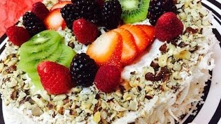 Торт Кокосовый рай  Рецепт торта
