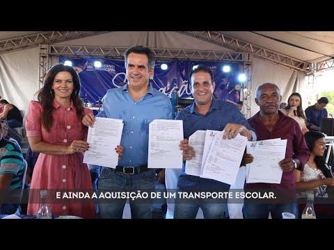 Trabalho Pelo Piauí: inauguração da Escola Francisco Ferreira dos Reis em Amarante