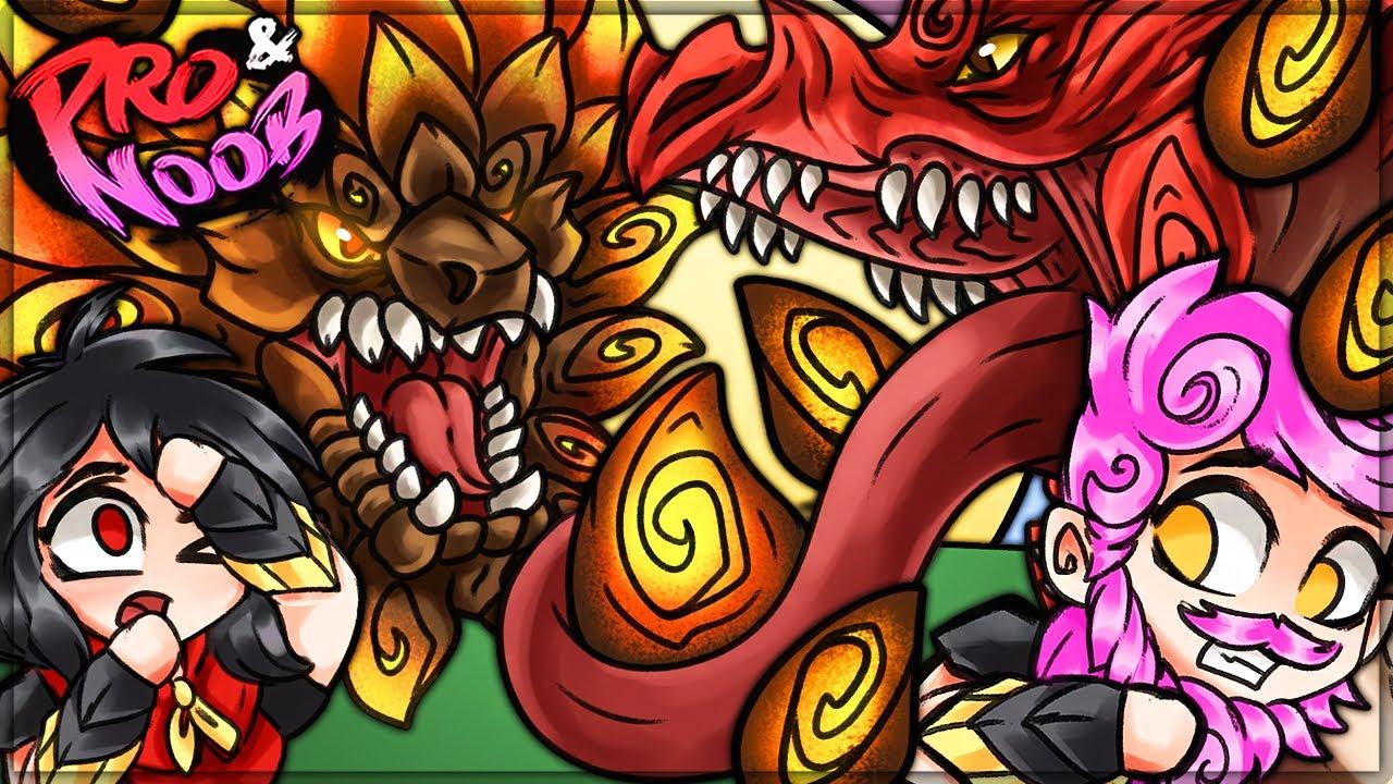 WORST WEAPON VS WORST MONSTER - Pro and Noob VS Monster Hunter Rise!