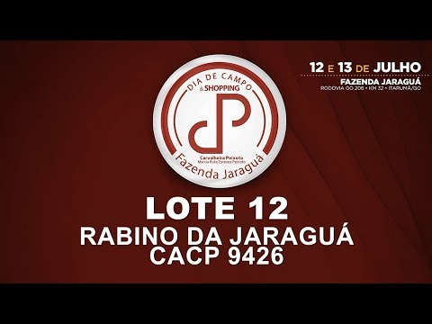 LOTE 12 (CACP 9426)