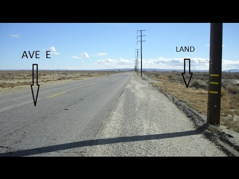 Los Angeles County Land for sale [ call 1-800-948-6907 ] Lancaster Land For Sale