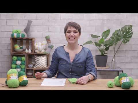 Anleitungsvideo - Struktursocken von Tanja Steinbach aus REGIA
