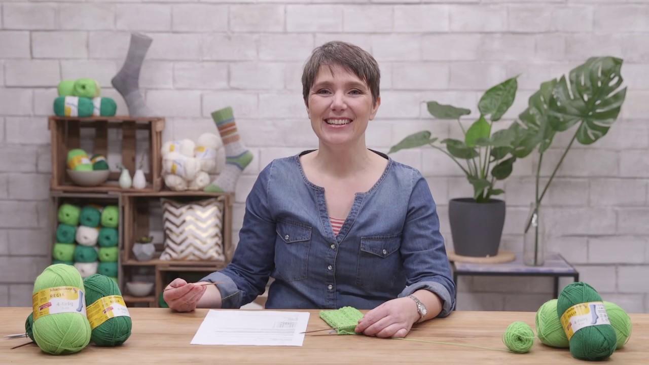 Anleitungsvideo Struktursocken Von Tanja Steinbach Aus Regia Youtube