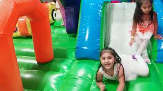 Childrens Indoor Play,Inflatables,Slides, Kids Family Fun Monkey Joe's