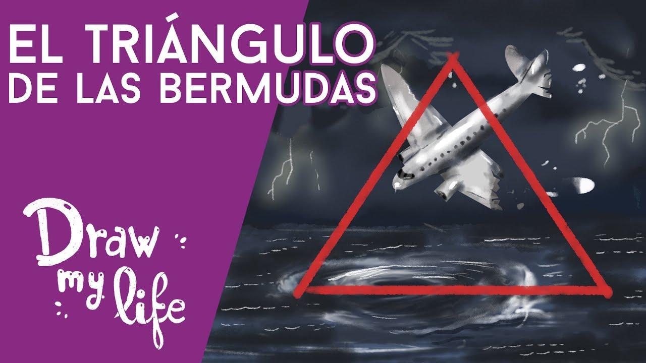 El MISTERIO del TRIÁNGULO DE LAS BERMUDAS | ACCIDENTE de AVIÓN SECRETO |Draw My Life