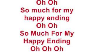 Repeat youtube video My Happy Ending - Avril Lavigne (Lyrics)