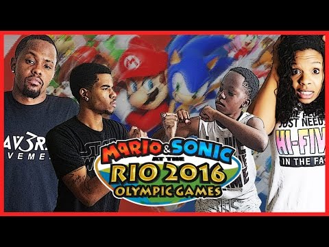 THE MAV3RIQ FAM OLYMPIC GAMES!! - Family Beatdown 12 Pt.3 I Mario & Sonic Olympics Gameplay