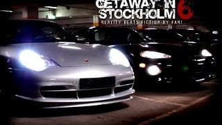 (HD) Getaway in Stockholm 6 - Dodge Viper and Porsche 996 GT3