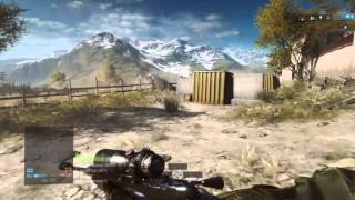 Battlefield 4™ WCASTLE_US aggressive recon: Quickscope's  Madness in Golmud Railway