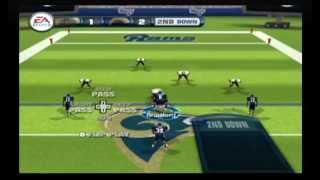 Madden NFL 11 (Wii) - 5 on 5 - Saints vs. Rams