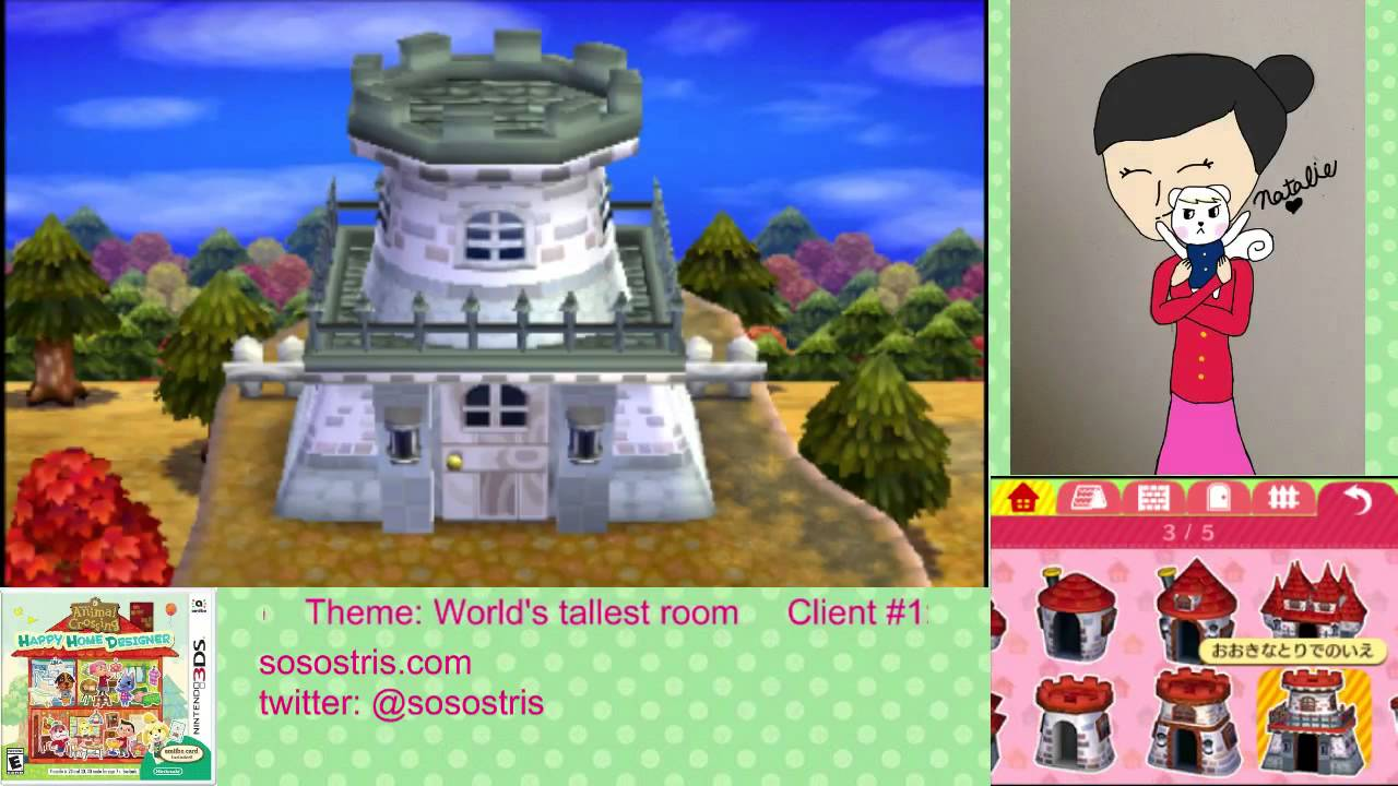 Animal Crossing: Happy Home Designer Let\'s Play #124 - YouTube