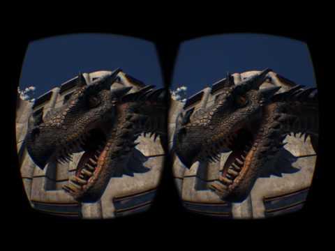 ARK  Survival Evolved - Oculus Rift 3D SBS