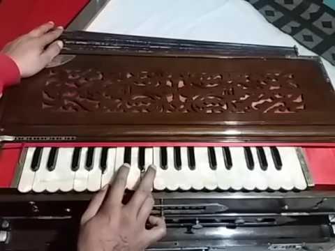 How To Play_Jis Bhajan M Raam Ka Name(raam Bhajan)on Harmonium/kybord