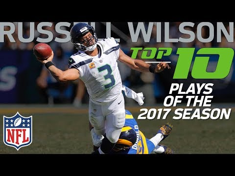 Russell Wilson's Top 10 Plays of the 2017 NFL Season | NFL Highlights