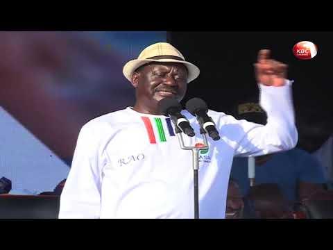 Raila Odinga dismiss allegations surrounding his trip to London